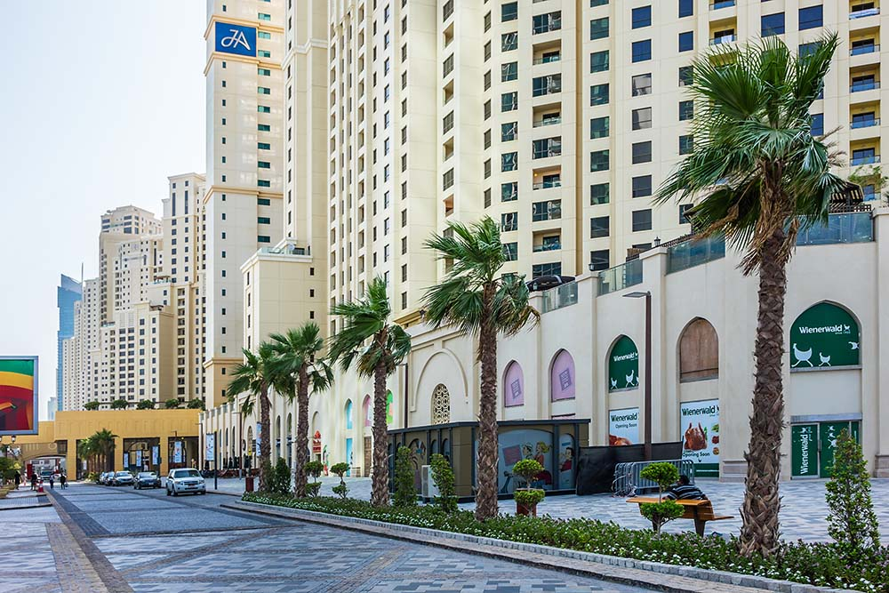 jumeirah beach residence mall