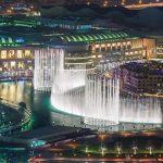 dubai burj khalifa fountains