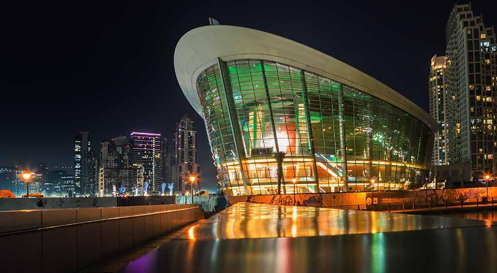 dubai opera concert and dj